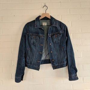 Old Navy Blue Denim Jean Jacket Fall Basic